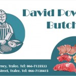 David Power business Card